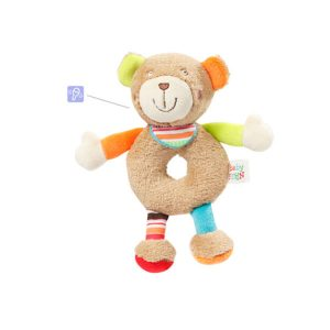 Soft Ring Rattle Teddy_091021