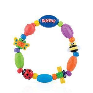 Playful teething bracelet Bug-a-Loop - 3m+